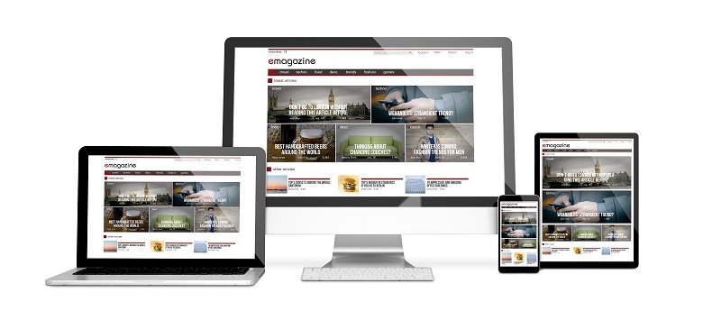 mobile responsive websites built in Northwich, Cheshire